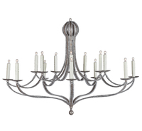Iatesta studio furniture accessories lighting textiles lorraine chandelier size ii aloadofball Choice Image